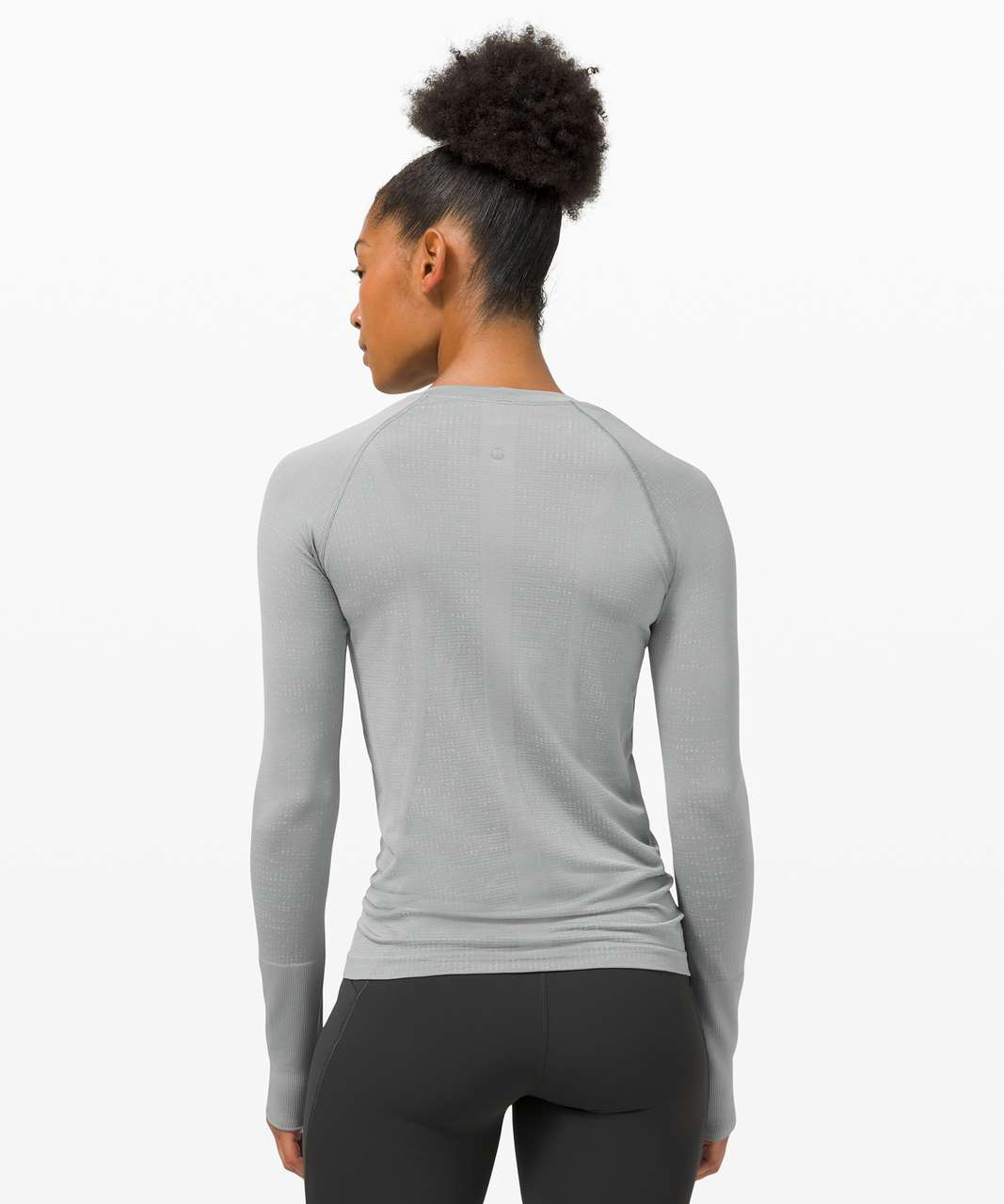 Lululemon Swiftly Tech Long Sleeve 2.0 - Disconnect Rhino Grey / Vapor