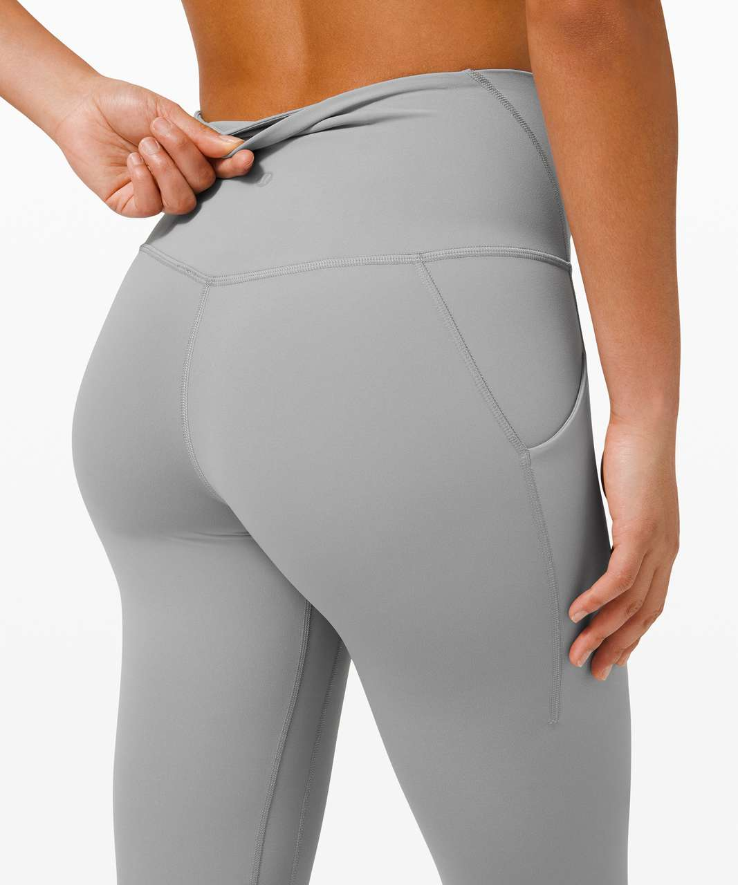 "Lululemon Align High Rise Pant with Pockets 25"" - Rhino Grey"