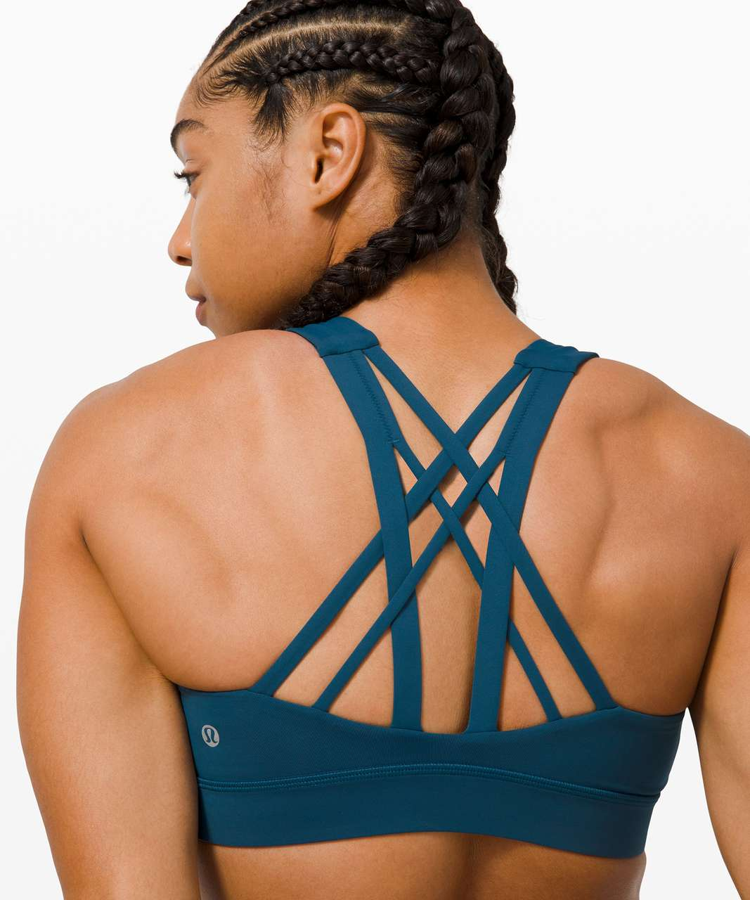 Lululemon Free To Be Elevated Bra *Light Support, DD/E Cup - Blue Borealis