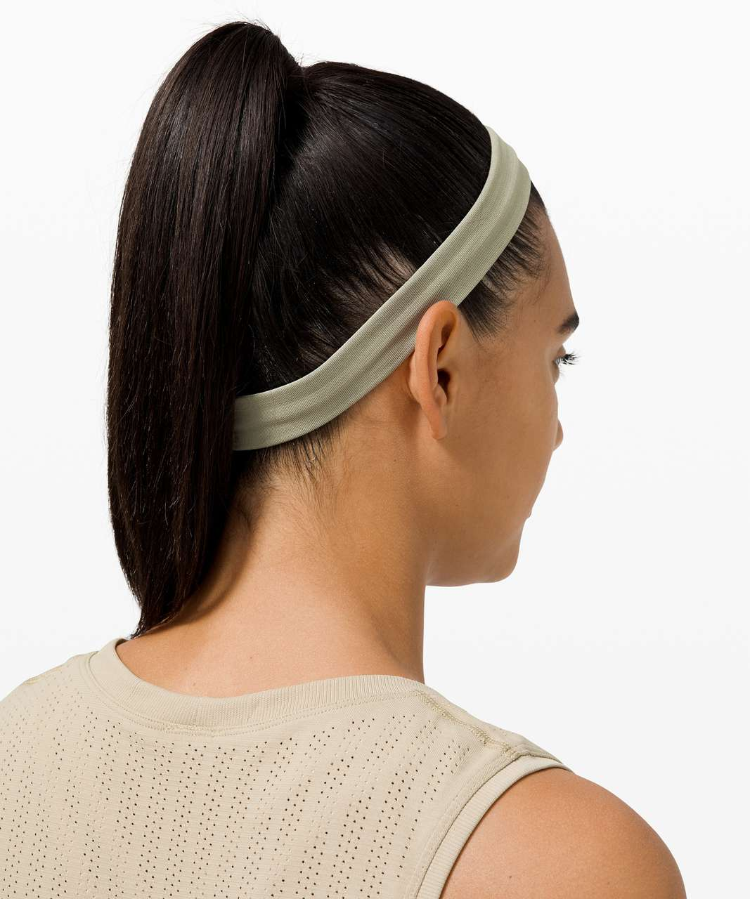 Lululemon Cardio Cross Trainer Headband - Heathered Rosemary Green