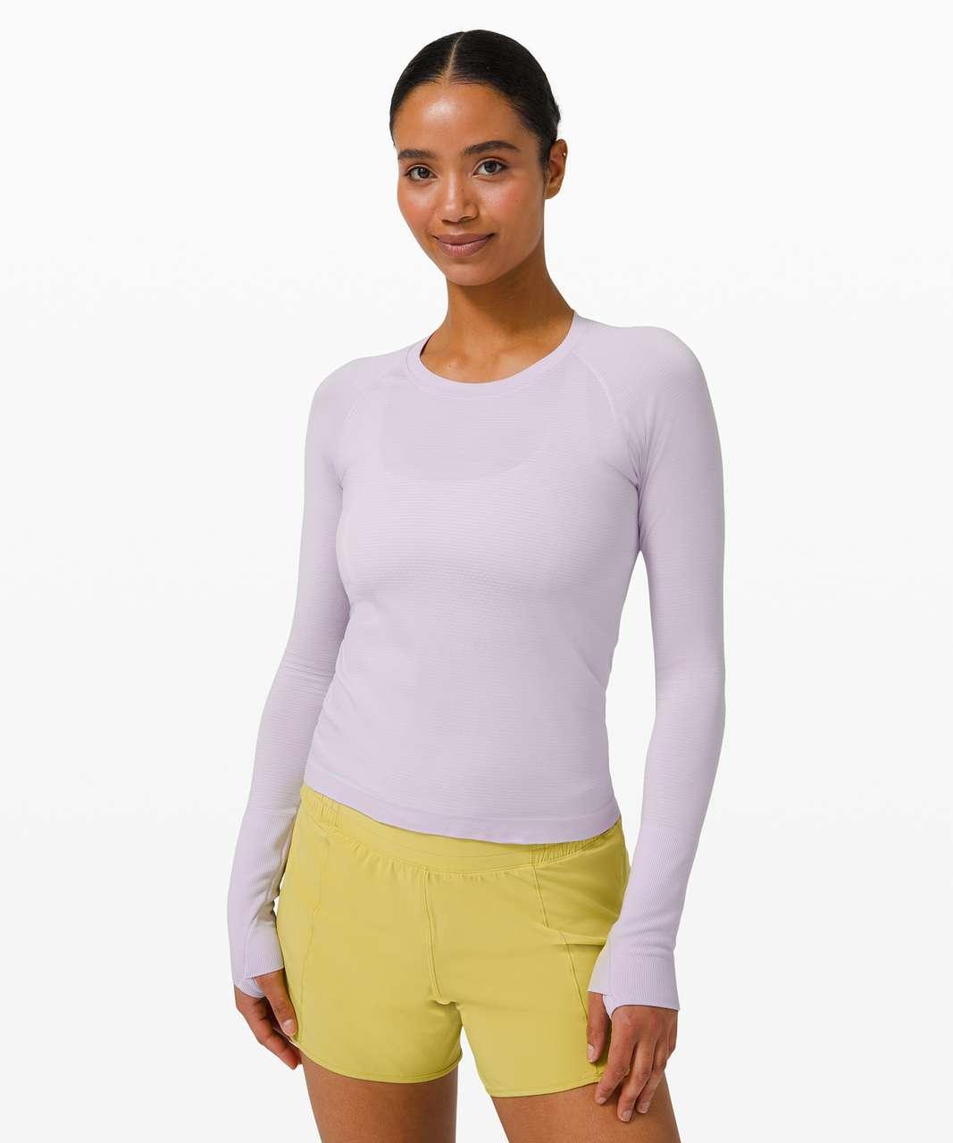 Lululemon Swiftly Tech Long Sleeve 2.0 *Race Length - Lavender Dew / Lavender Dew