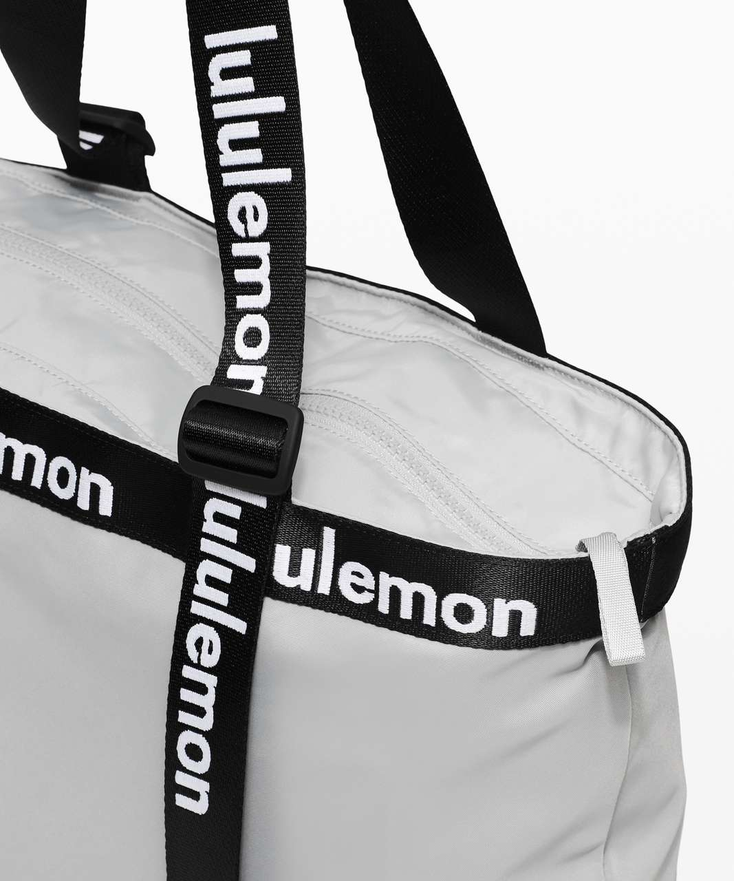 Lululemon The Rest is Written Tote - Silver Drop