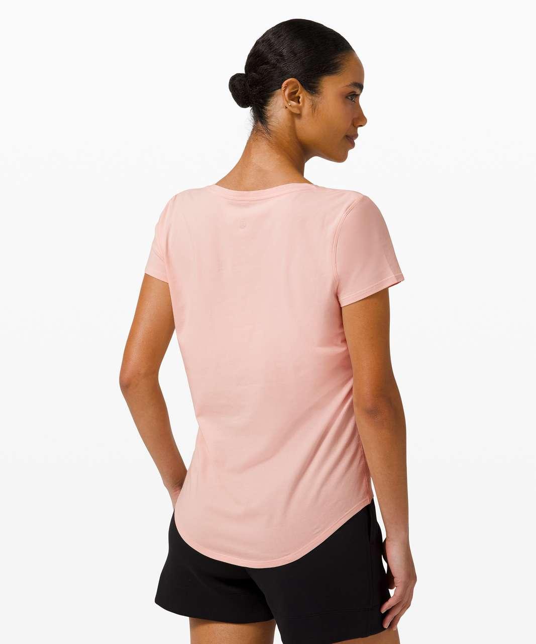 Lululemon Love Tee V - Pink Mist