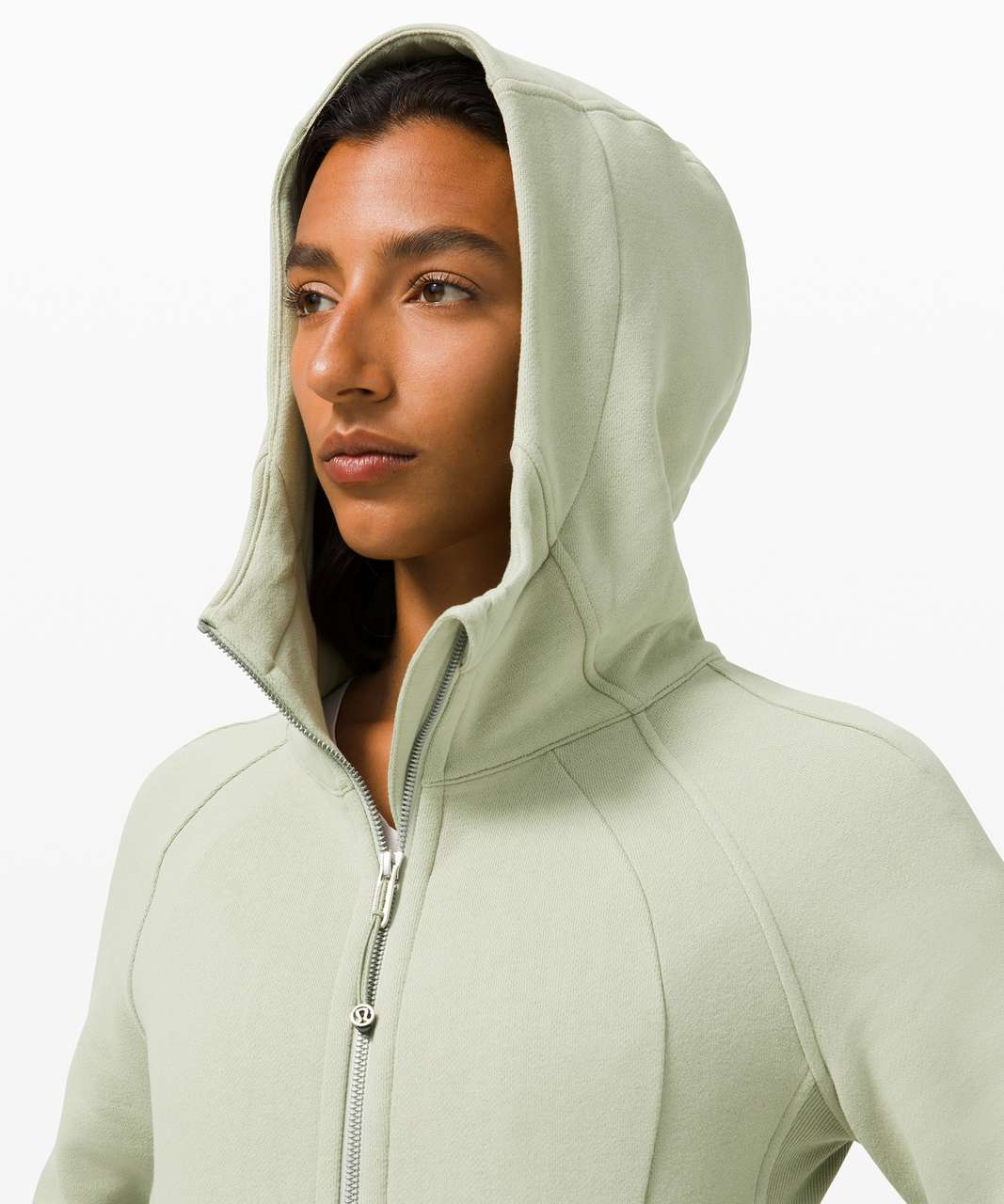 Lululemon Scuba Hoodie *Light Cotton Fleece - Green Fern