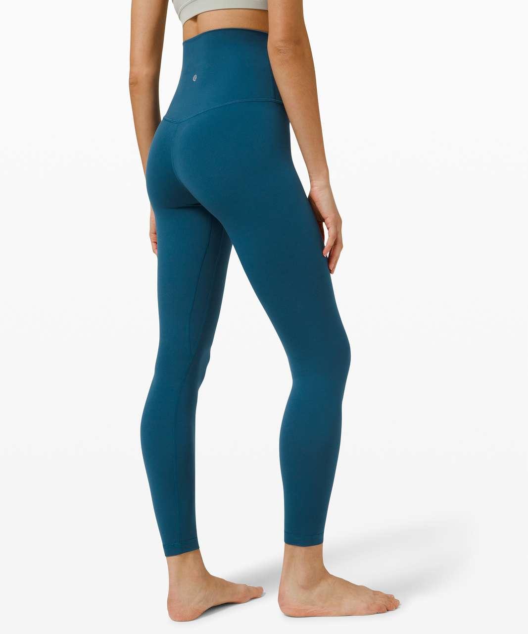 "Lululemon Align Super-High Rise Pant 28"" - Blue Borealis"