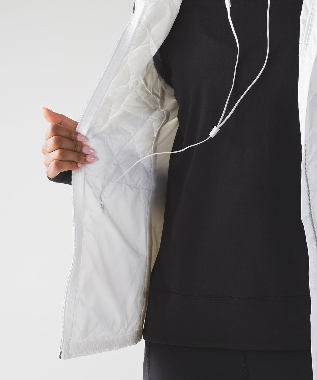Lululemon Down For A Run Vest - White