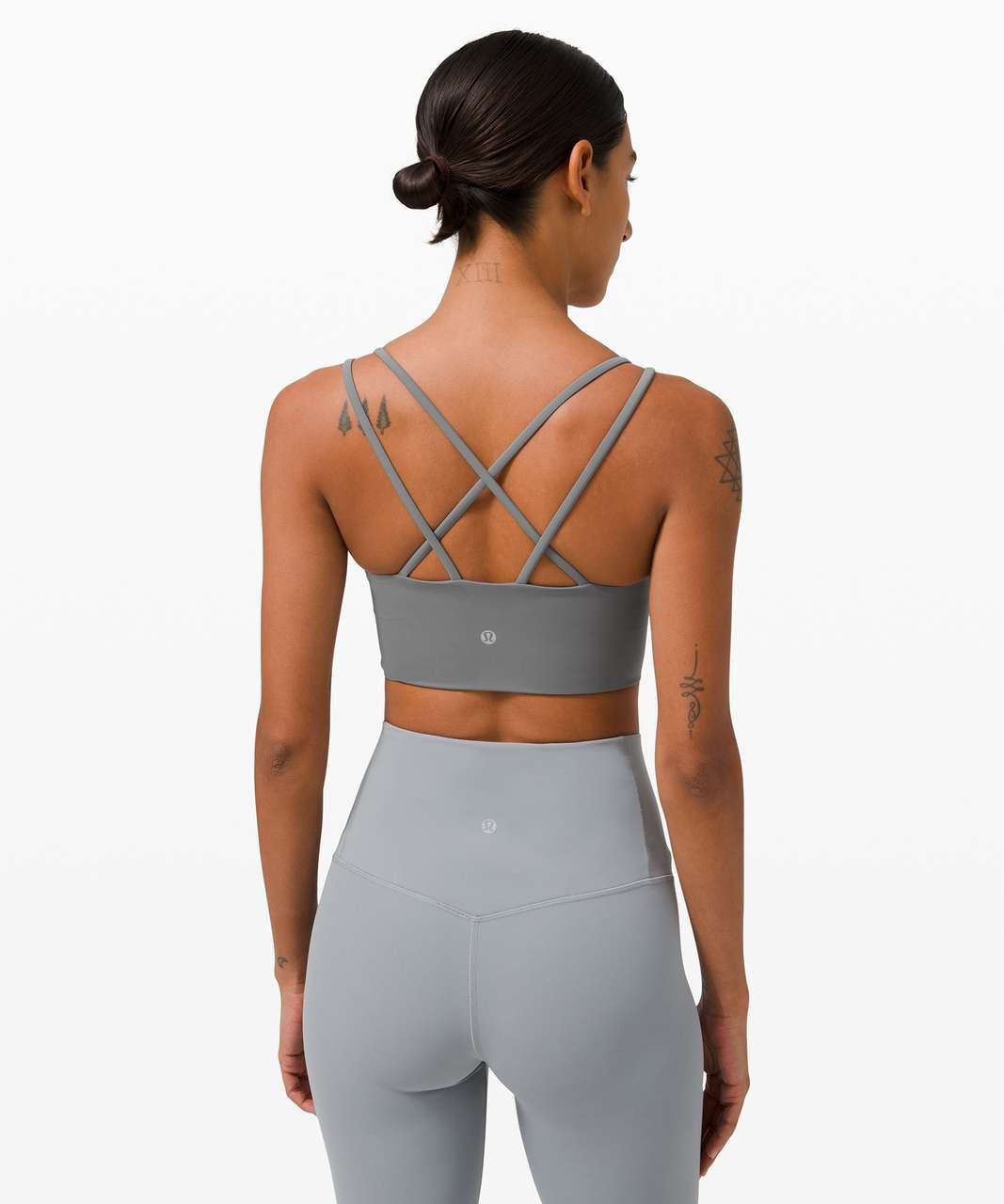 Lululemon Like a Cloud Bra Long Line *Light Support, B/C Cup - Asphalt Grey
