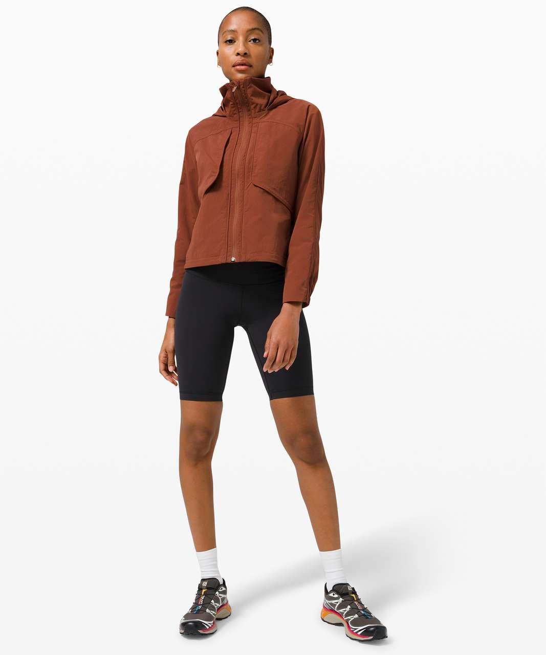 Lululemon Always Effortless Jacket - Dark Terracotta