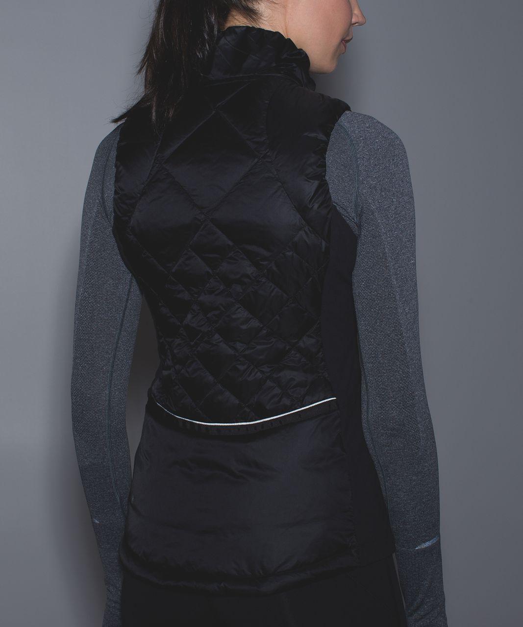 Lululemon Down For A Run Vest - Black