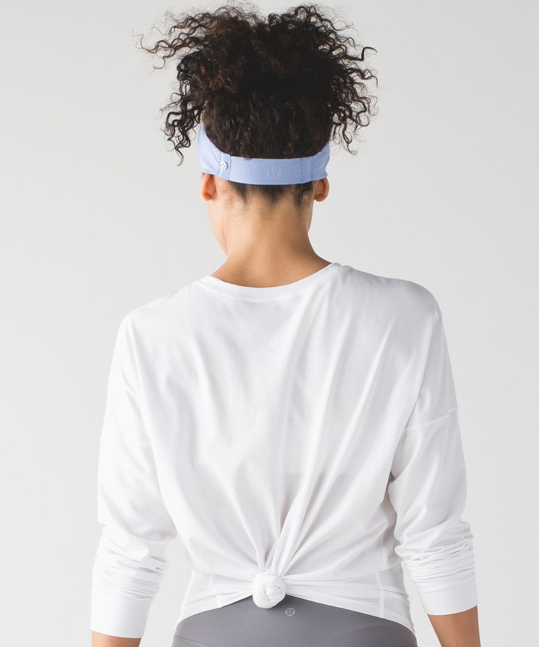 Lululemon Fringe Fighter Headband - Lavender Dusk / Heathered Emperor Blue