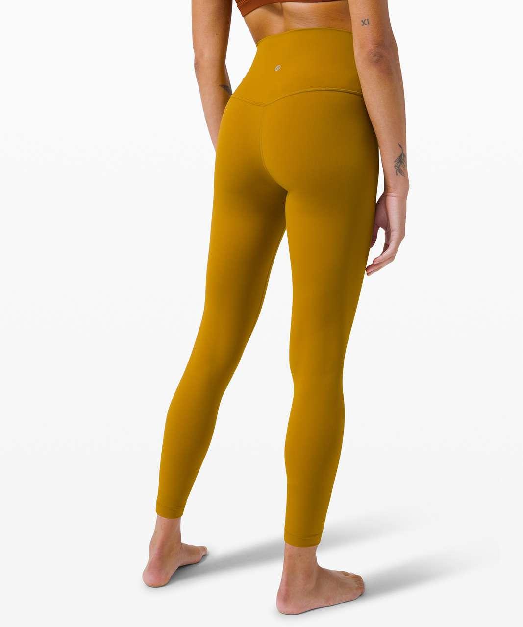 "Lululemon Align Pant 25"" - Gold Spice"