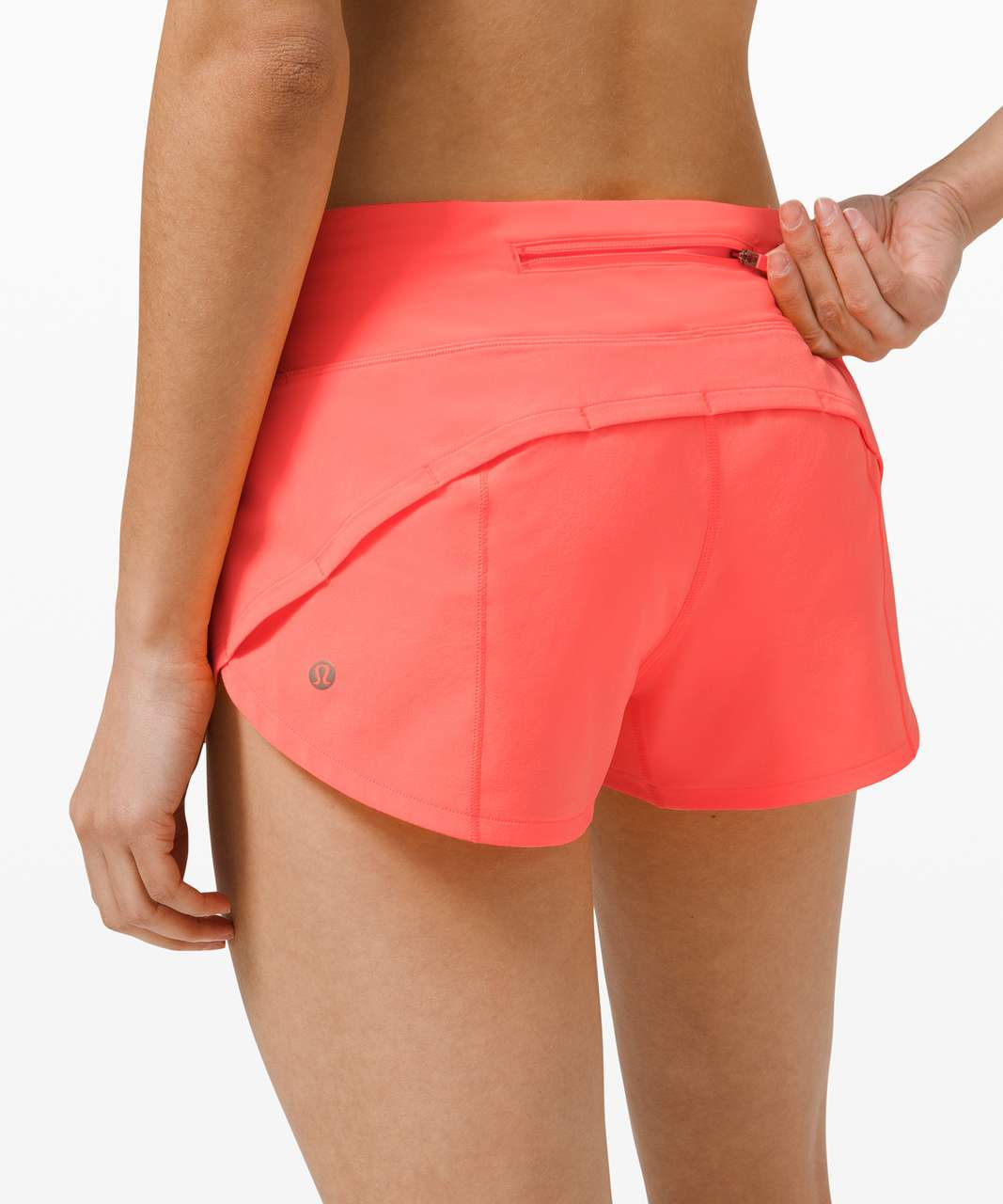 "Lululemon Speed Up Short *2.5"" - Sunset"