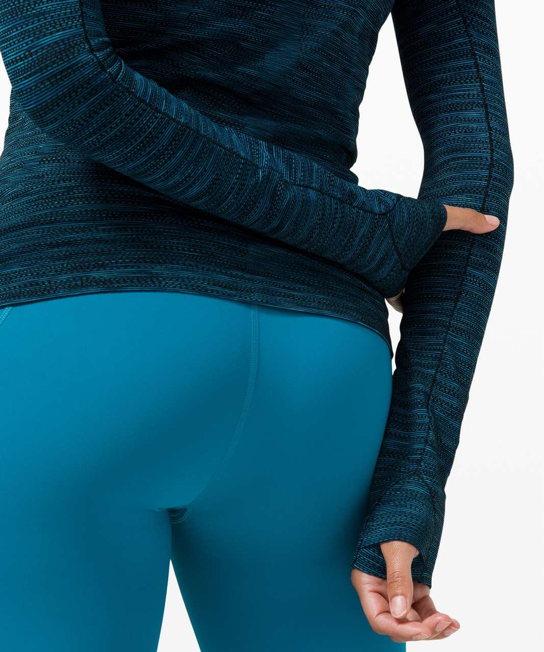 Lululemon Swiftly Tech Long Sleeve 2.0 - Prism Stripe Turquoise Tide Multi