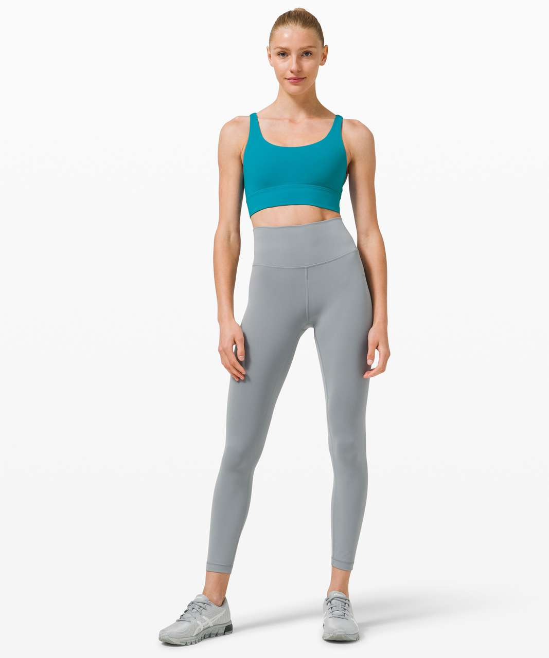 Lululemon Energy Bra Long Line *Medium Support, B–D Cup - Hawaiian Blue
