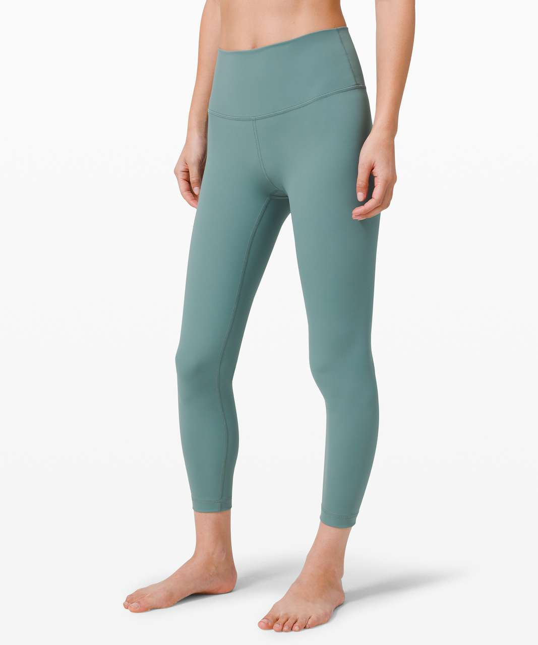 "Lululemon Wunder Under High-Rise Tight 25"" *Luxtreme - Tidewater Teal"