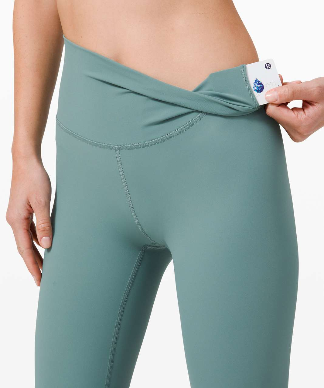 """Lululemon Wunder Under High-Rise Tight 25"""" *Luxtreme - Tidewater Teal"""
