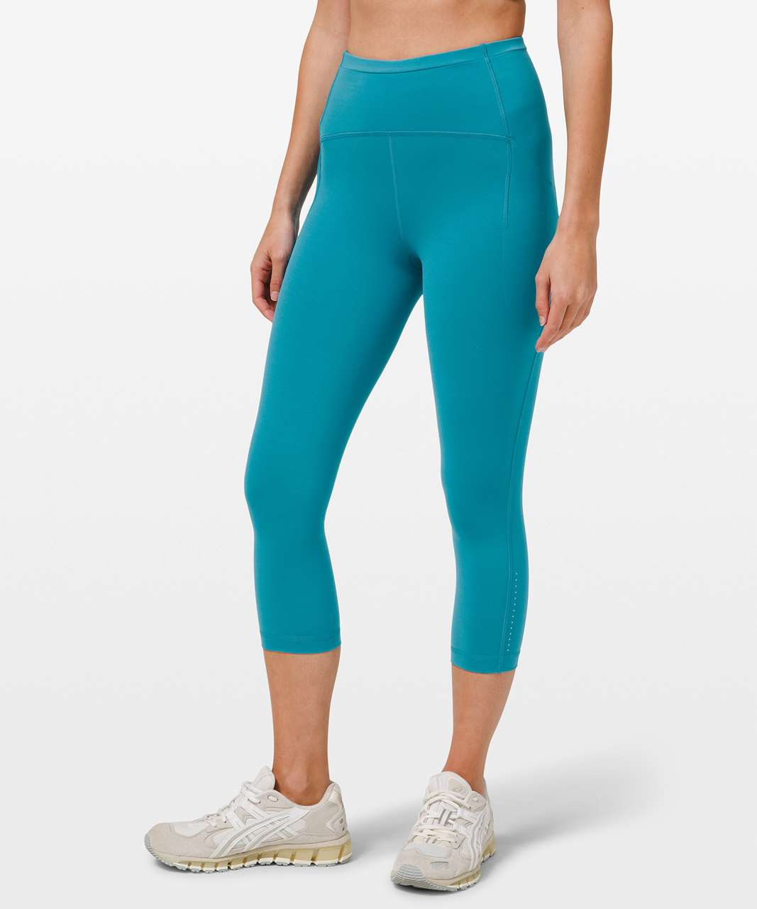 "Lululemon Swift Speed High-Rise Crop 21"" - Hawaiian Blue"