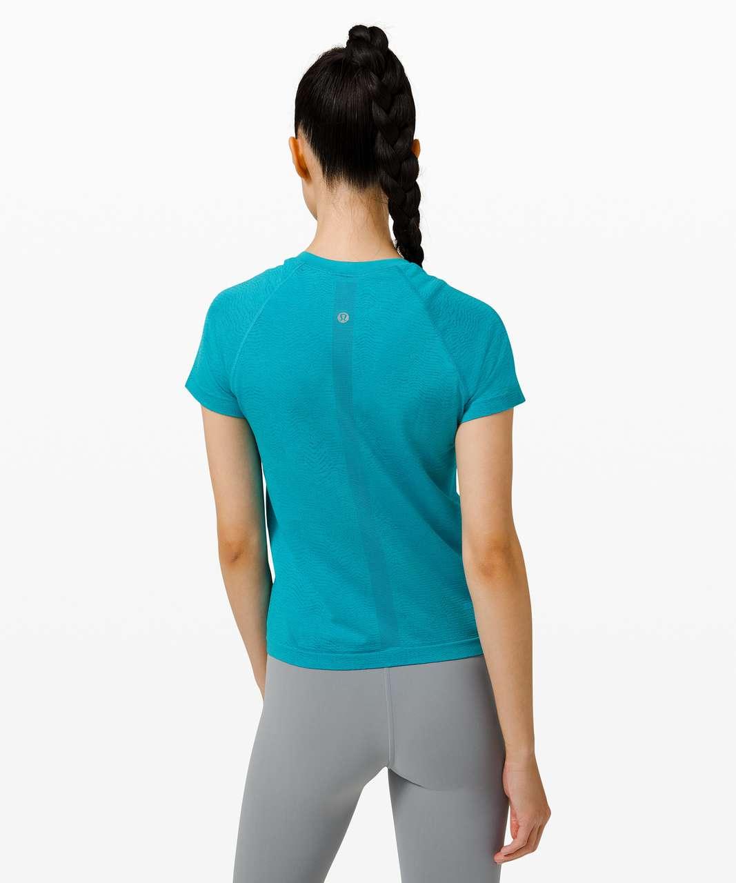 Lululemon Swiftly Tech Short Sleeve 2.0 *Race Length - Ripple Wave Hawaiian Blue / Turquoise Tide