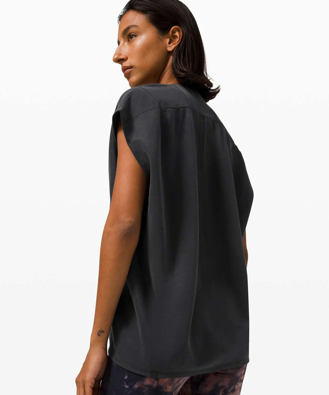 Lululemon Capped Short Sleeve Tee - Black