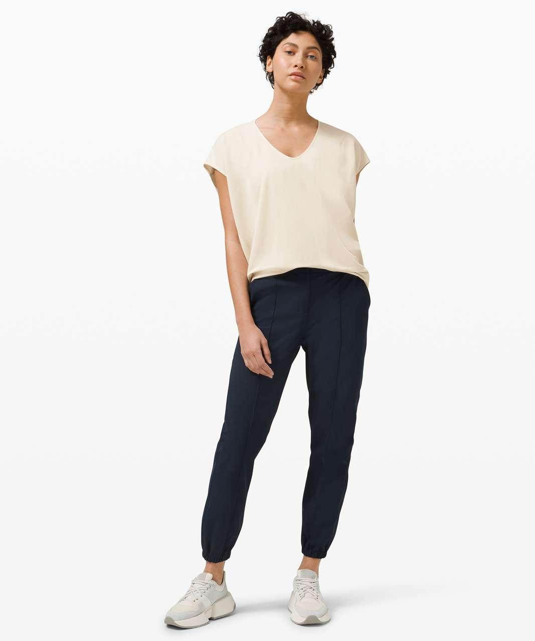 Lululemon Capped Short Sleeve Tee - White Opal