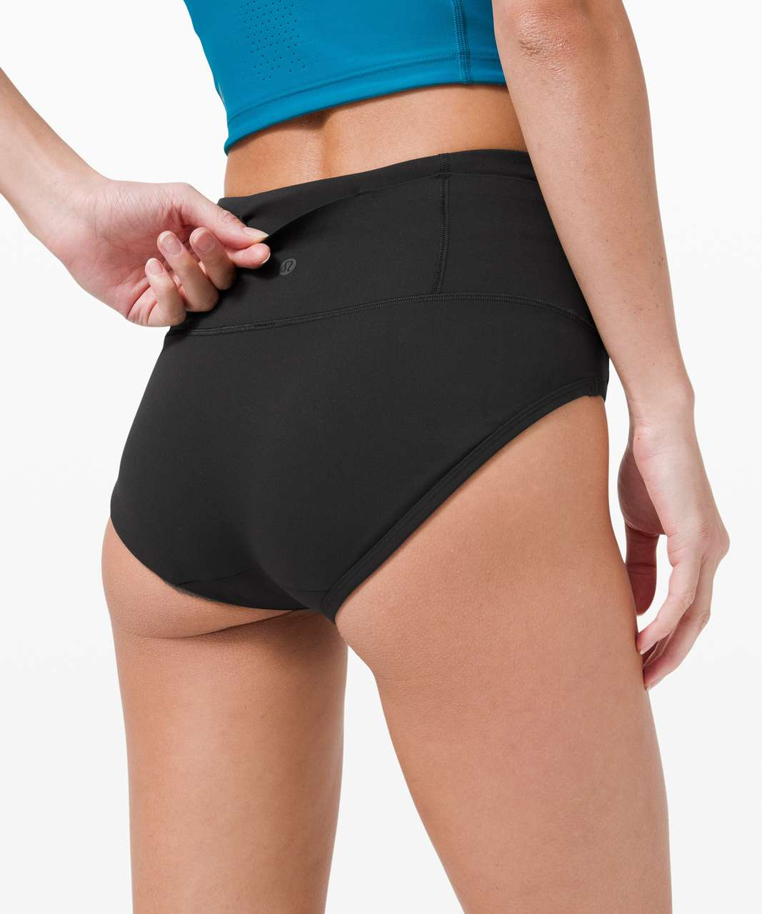 Lululemon Swift Speed Race Brief - Black