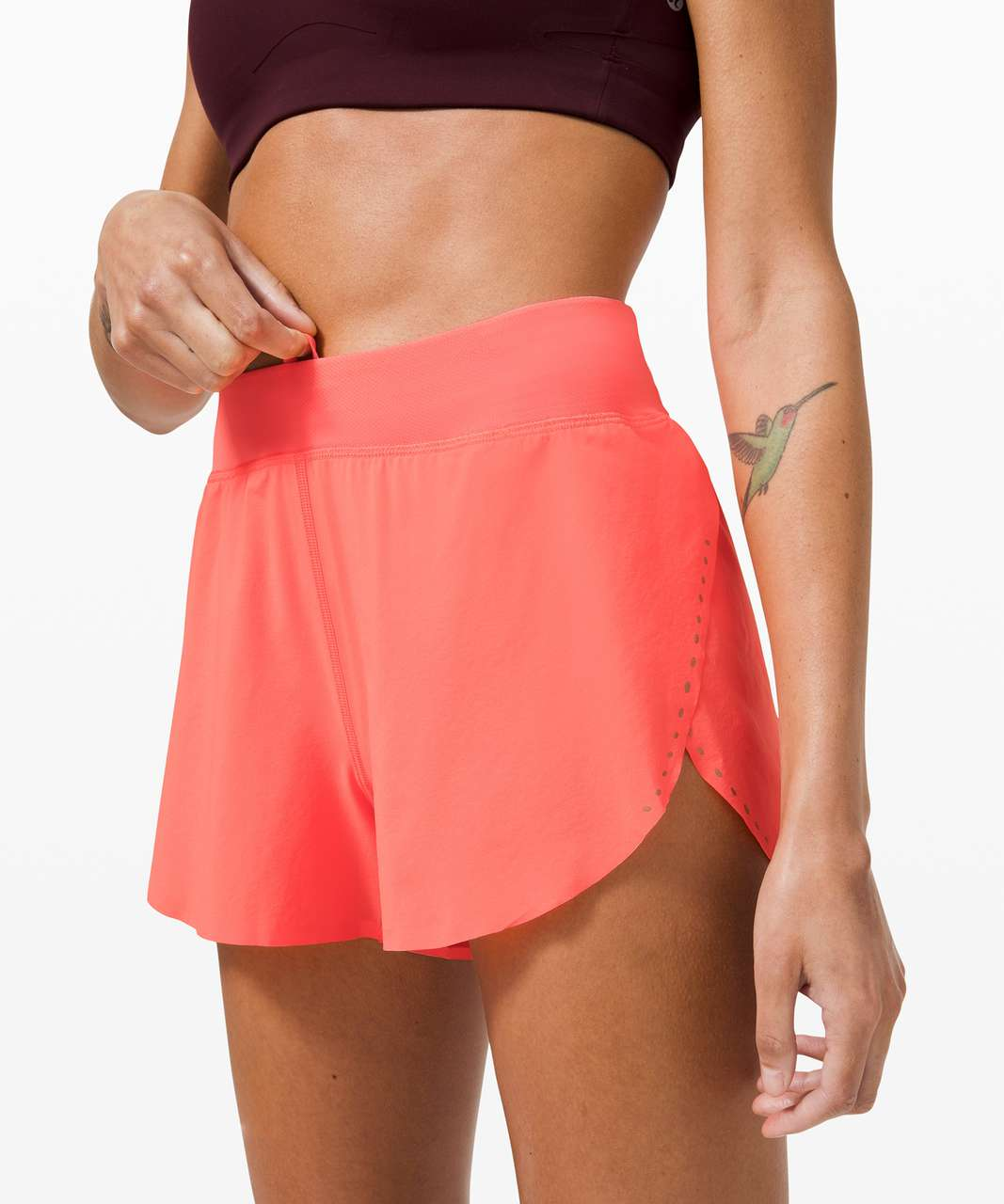 "Lululemon Find Your Pace Short 3"" *Lined - Sunset"