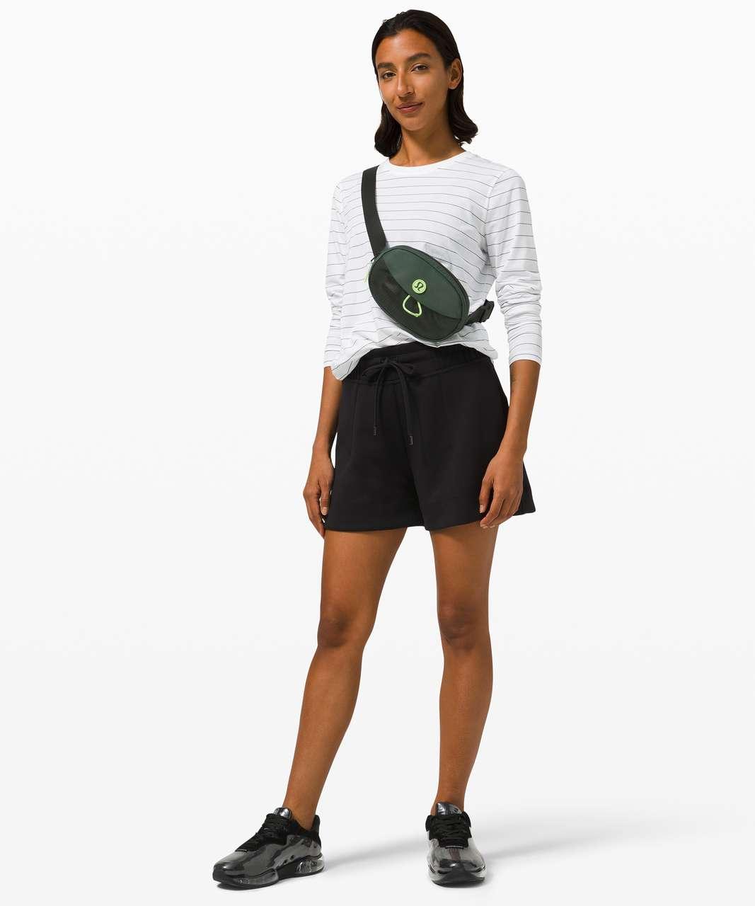 Lululemon Take It On Belt Bag *1L - Smoked Spruce / Neo Mint