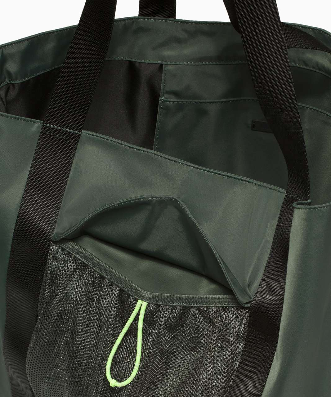 Lululemon Take It On Tote *24L - Smoked Spruce / Neo Mint