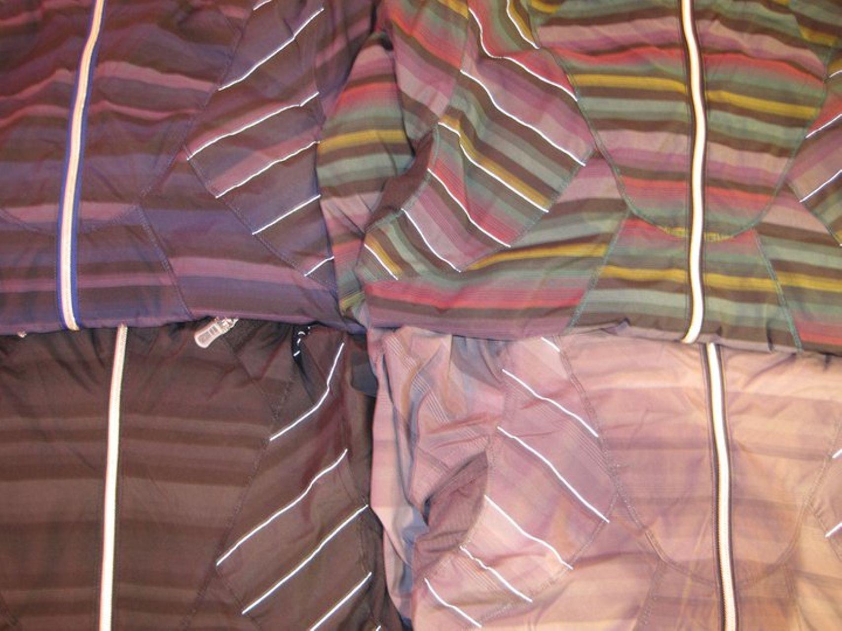 ce647664286 Lululemon Hustle Jacket - Multi Poncho Stripe - lulu fanatics
