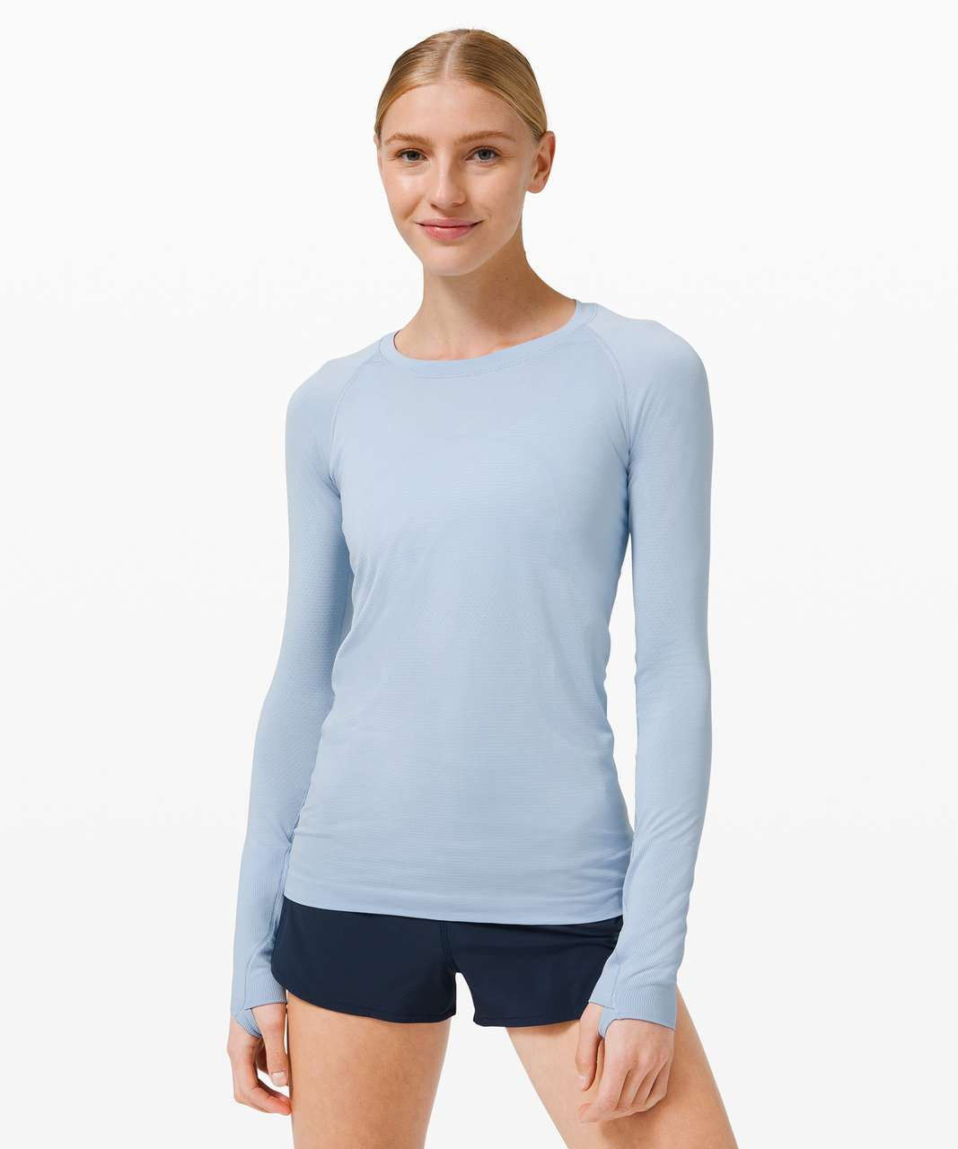 Lululemon Swiftly Tech Long Sleeve 2.0 - Blue Linen / Blue Linen