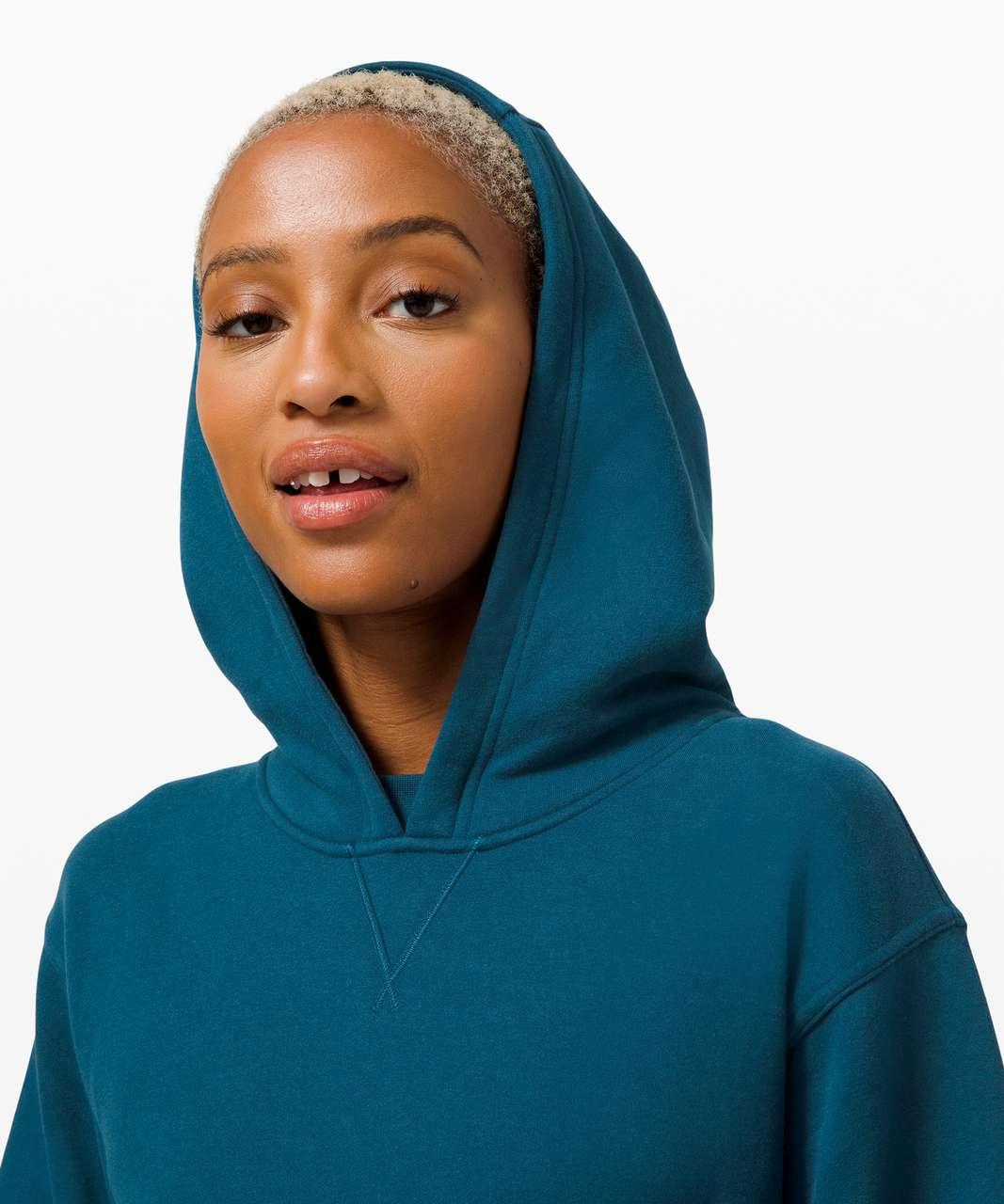 Lululemon All Yours Hoodie *Fleece - Blue Borealis