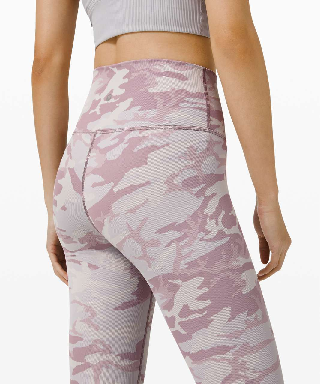 "Lululemon Wunder Under High-Rise Tight 28"" *Luxtreme - Incognito Camo Jacquard Iced Iris Violet Verbana"