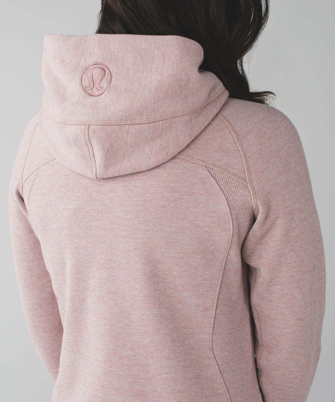 Lululemon Scuba Hoodie III - Heathered Bark Berry