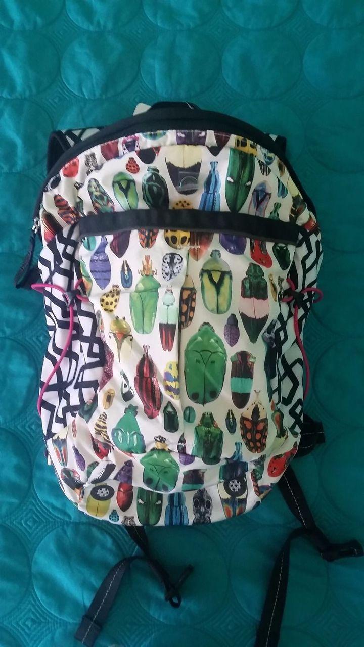 Lululemon Run All Day Backpack - 2015 Seawheeze - Bugs