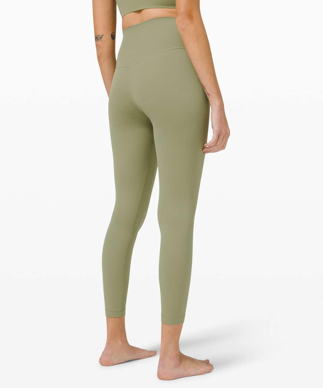 """Lululemon Align Pant 25"""" - Rosemary Green"""