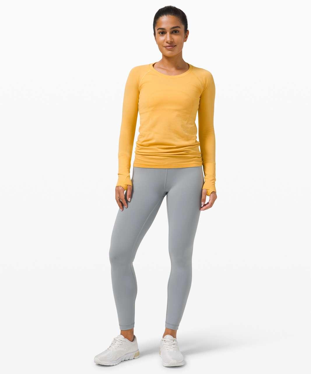 Lululemon Swiftly Tech Long Sleeve 2.0 - Wheat Yellow / Wheat Yellow