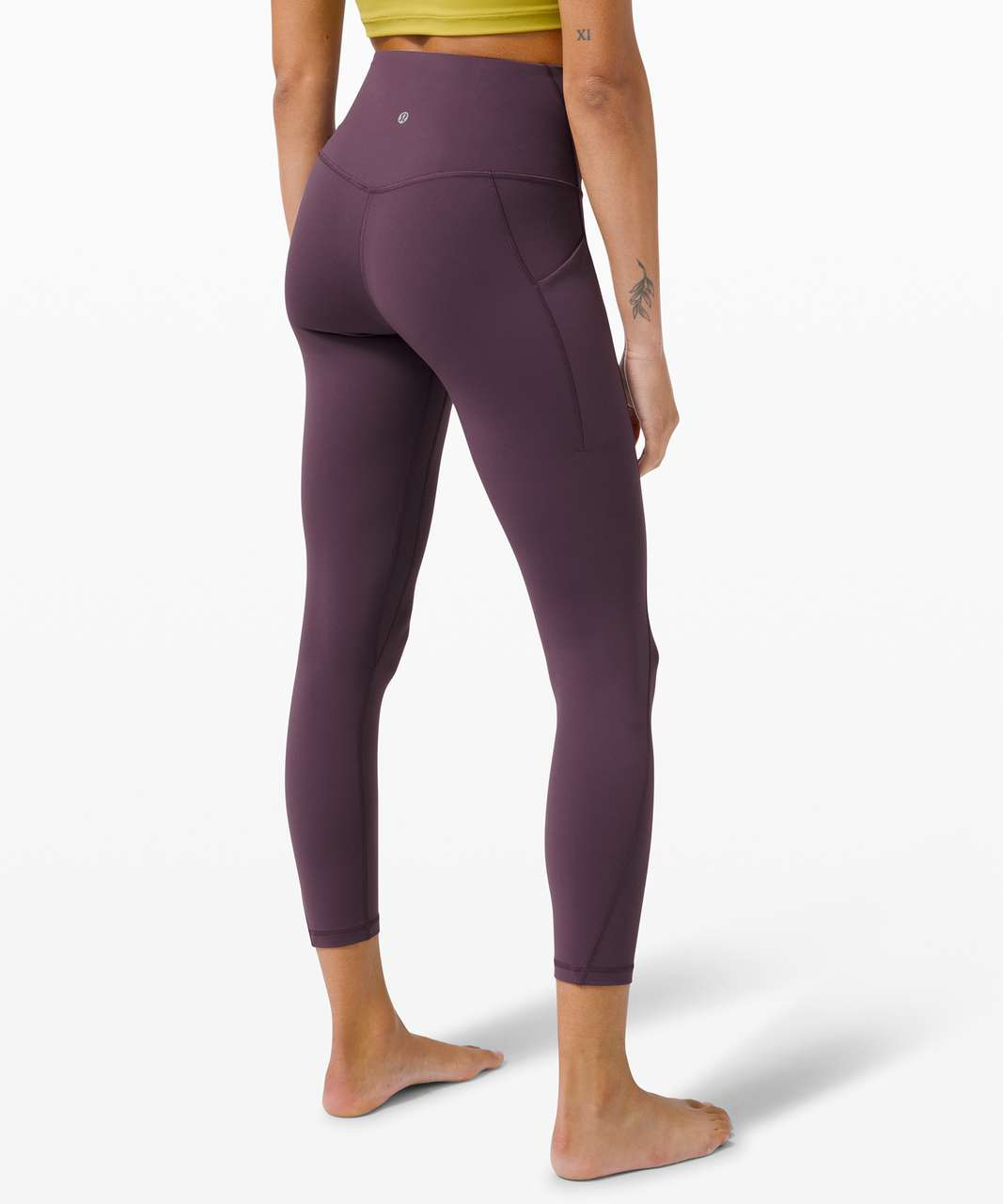 """Lululemon Align High Rise Pant with Pockets 25"""" - Grape Thistle"""