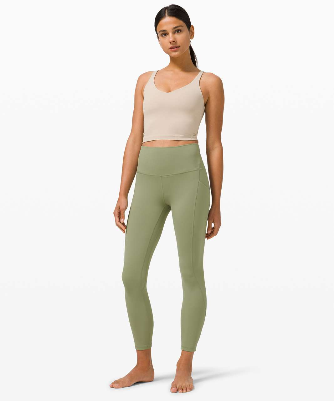 """Lululemon Align High Rise Pant with Pockets 25"""" - Rosemary Green"""