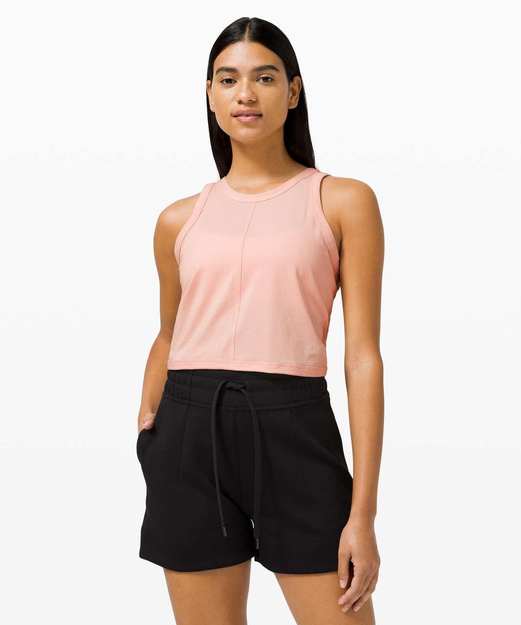 Lululemon Its A Tie Tank - Pink Mist