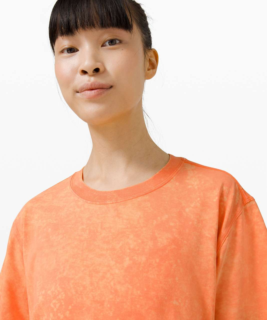 Lululemon All Yours Tee *Cloud - Cloudy Wash Golden Apricot