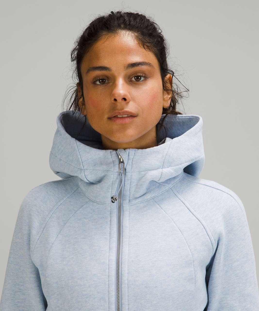 Lululemon Scuba Hoodie *Light Cotton Fleece - Heathered Blue Linen