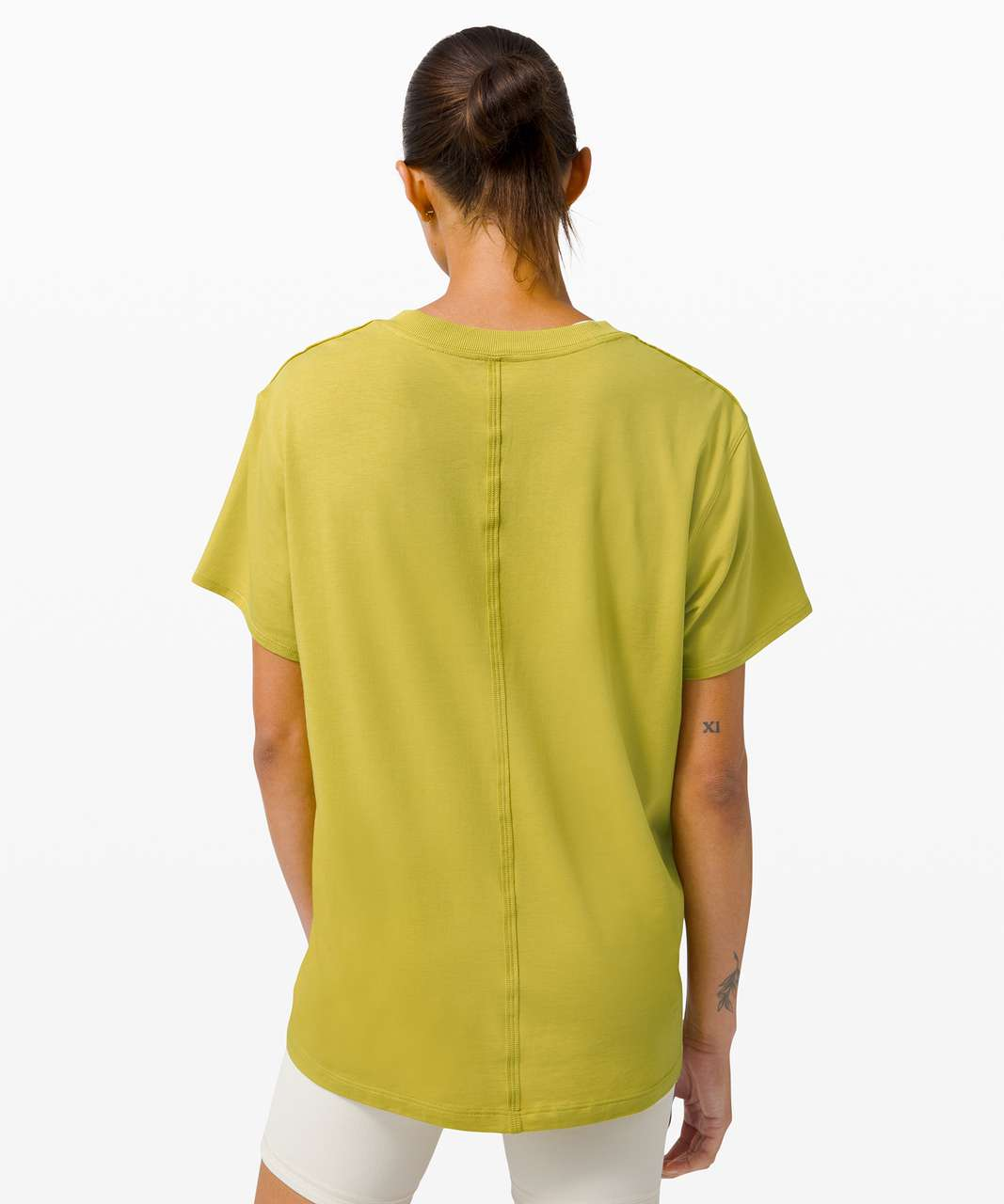 Lululemon All Yours Tee - Yellow Pear