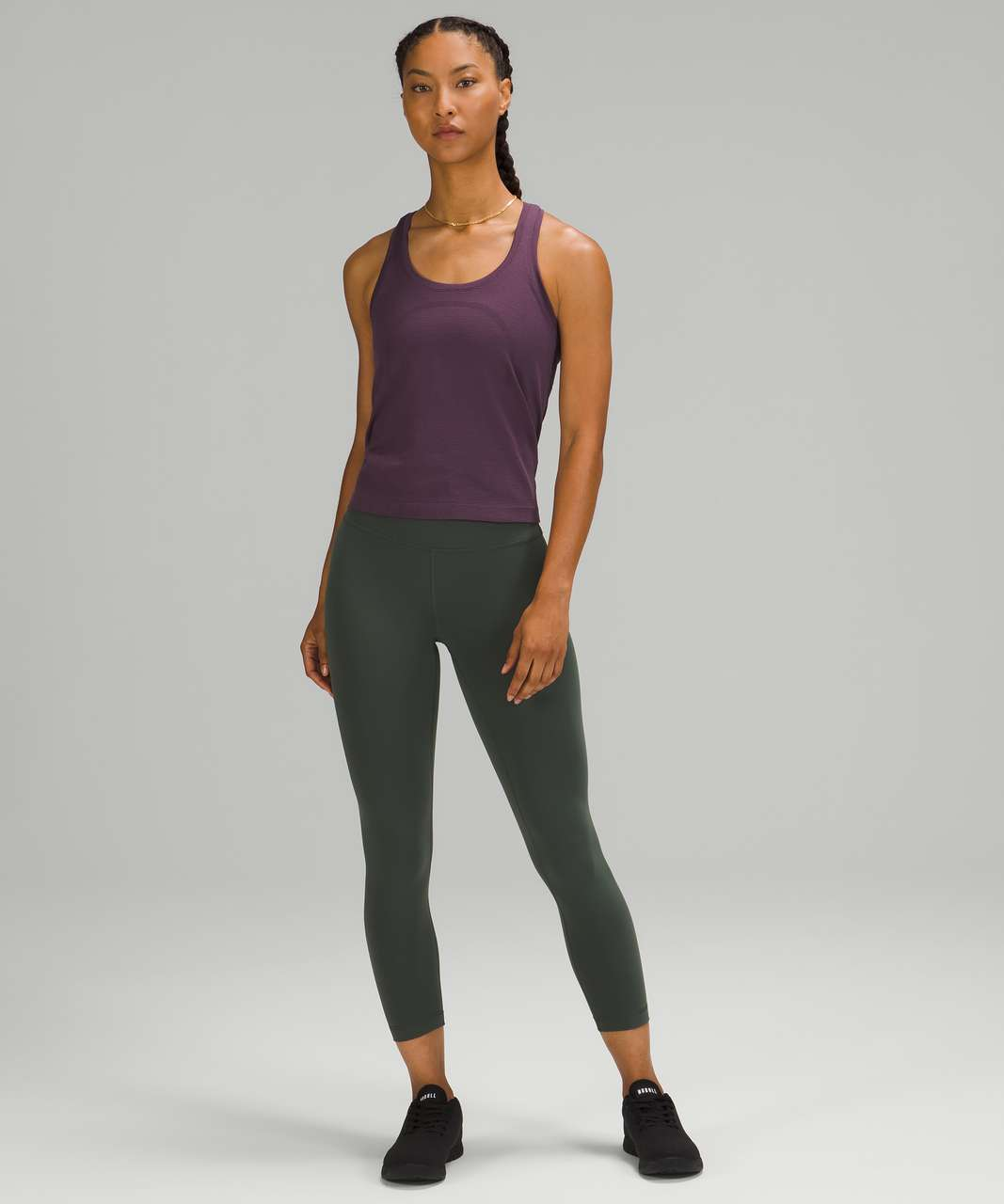 Lululemon Swiftly Tech Racerback 2.0 *Race Length - Grape Thistle / Grape Thistle