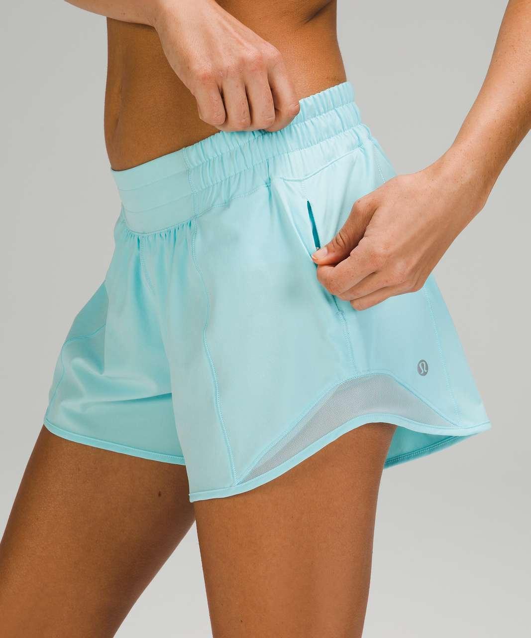 """Lululemon Hotty Hot Short *Long 4"""" - Icing Blue"""