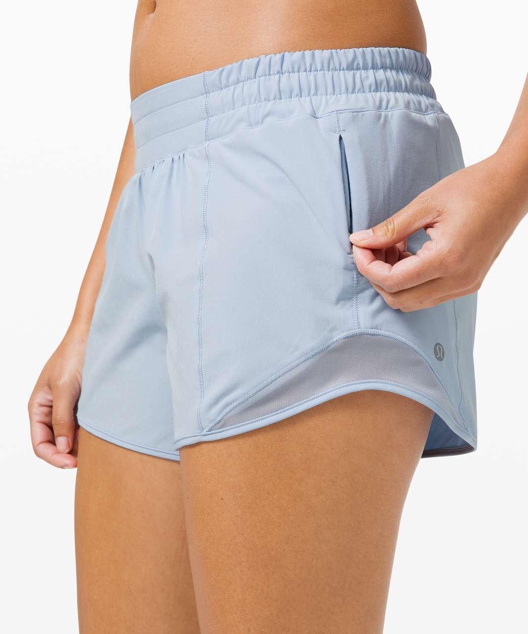 """Lululemon Hotty Hot Short *Long 4"""" - Blue Linen"""
