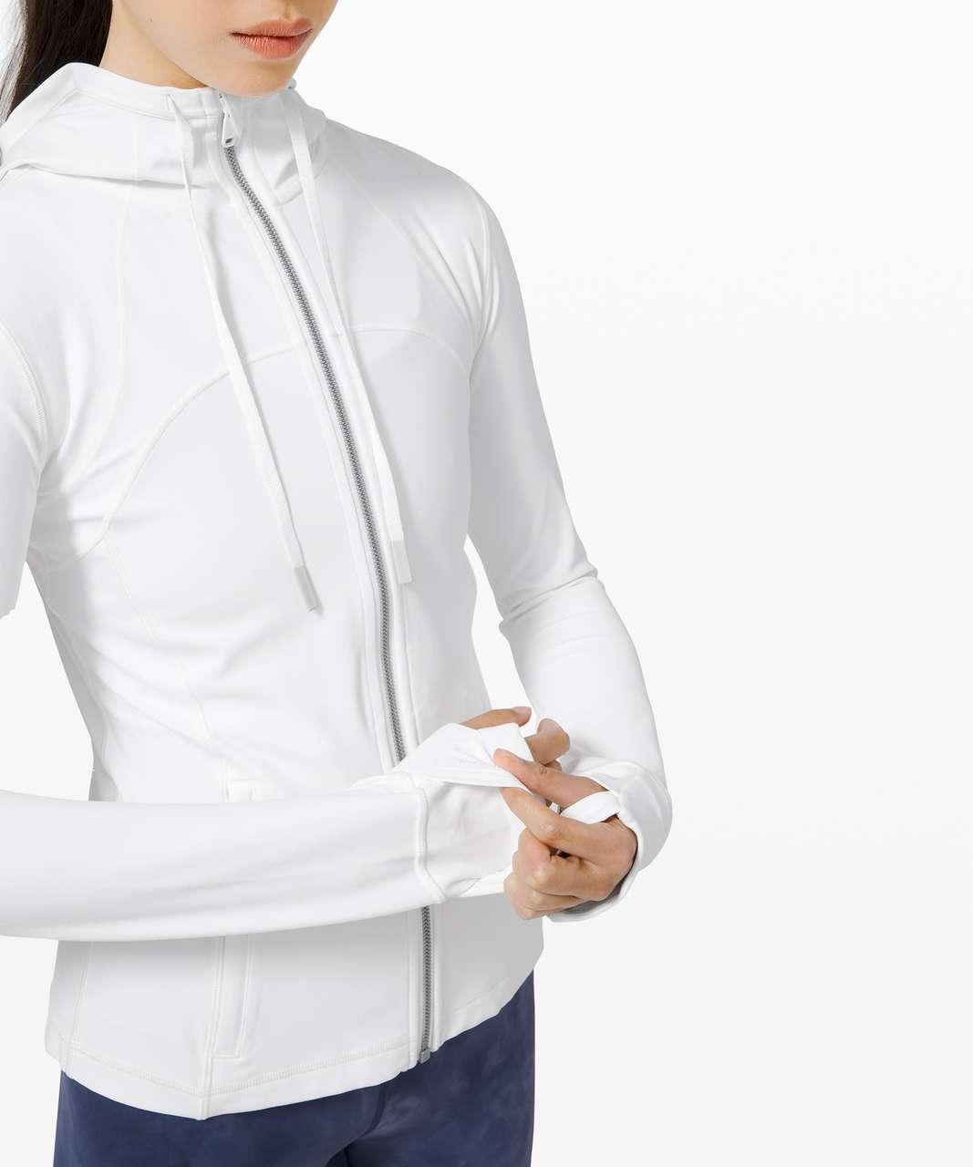 Lululemon Hooded Define Jacket *Nulu - White