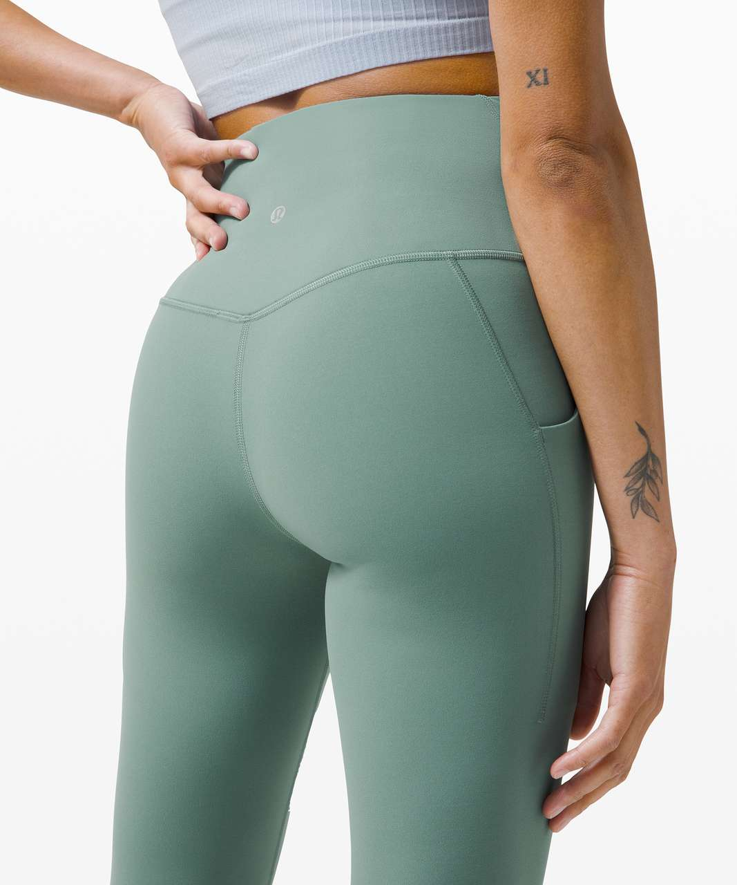 """Lululemon Align High Rise Pant with Pockets 25"""" - Tidewater Teal"""