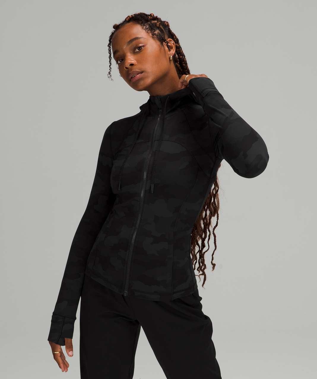 Lululemon Hooded Define Jacket *Nulu - Heritage 365 Camo Deep Coal Multi