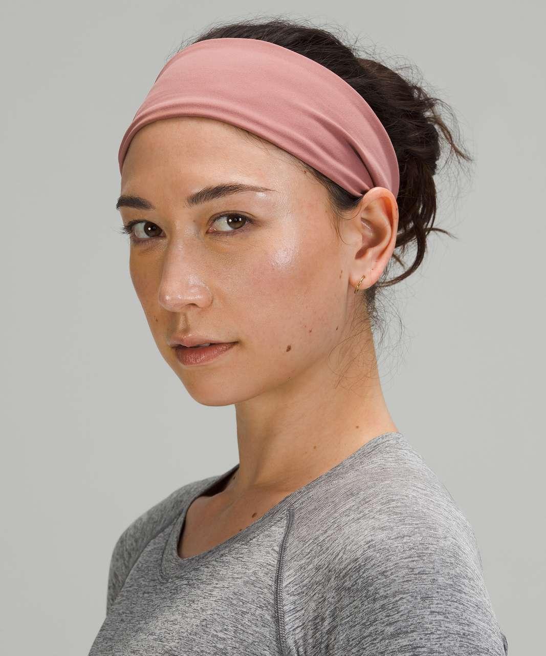Lululemon Fringe Fighter Headband - Spiced Chai / Pink Mist