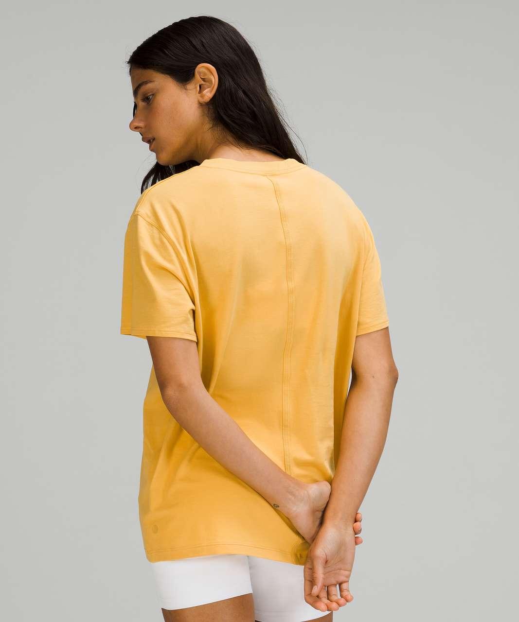 Lululemon All Yours Tee - Wheat Yellow